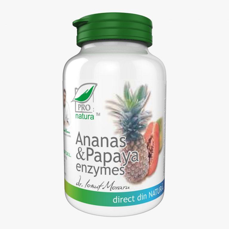 Ananas&Papaya enzimes 60cp